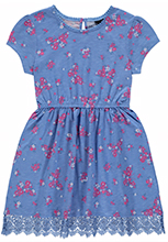 Shop girls' red white and blue summer clothes and dresses