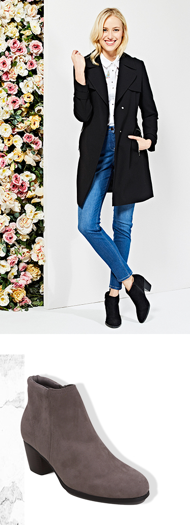 Update your spring shoedrobe with our selection of ankle boots at George.com