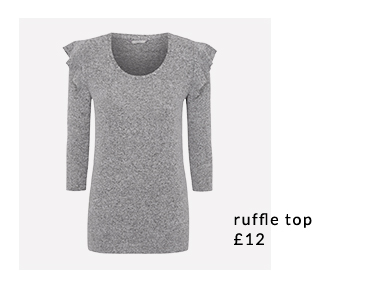 Freshen up your basics with our range of ruffle tops at George.com