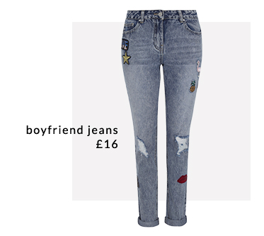 Give your denim collection an update with boyfriend jeans at George.com