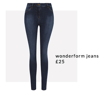 Make everyday a denim day with our wonderform jeans at George.com