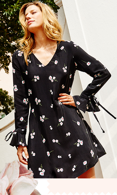 Channel dark florals this season with our gorgeous range of dresses at George.com