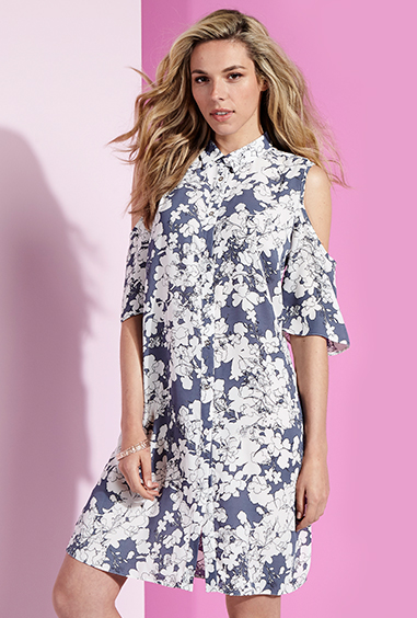 Be your best self with our printed, floral and patterned shirt dresses at George at ASDA