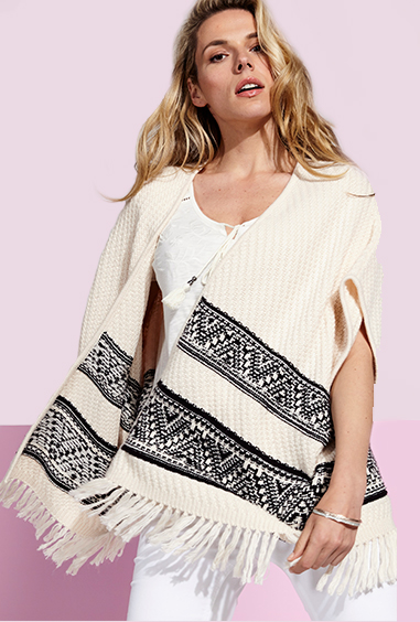 Tapping into the boho trend has never been so easy or so chic than with our fringed cover-up knits from George at ASDA