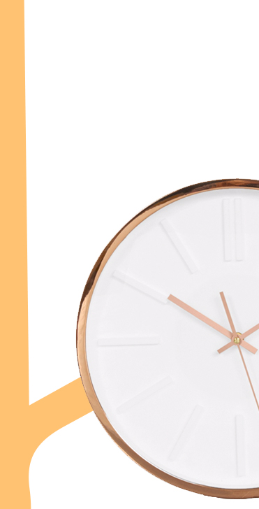 Make a statement with our range modern to traditional clocks at George.com