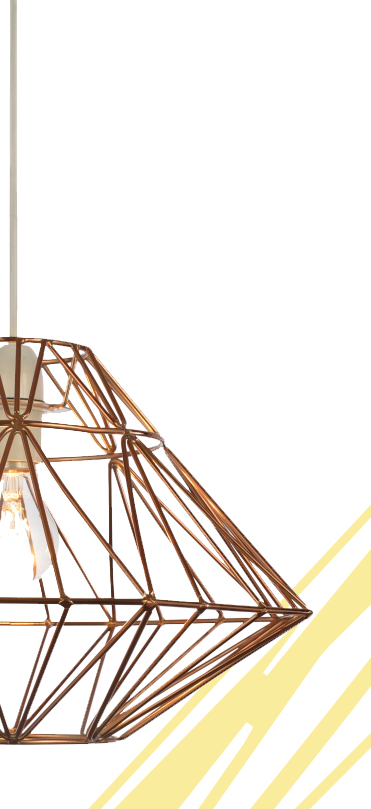 Brighten up your living room space with style with our selection of lampshades, pendants and table lights at George.com