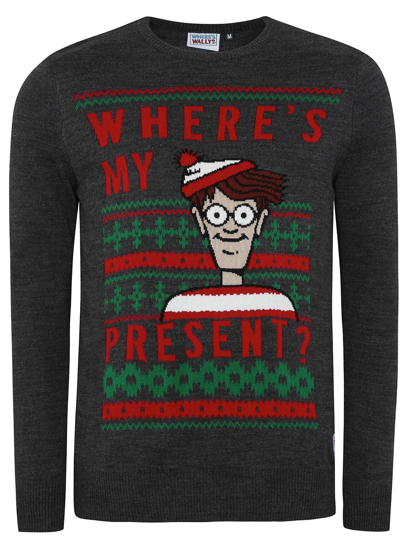 Wheres Wally Christmas Jumper