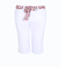 Shop white trousers at George.com
