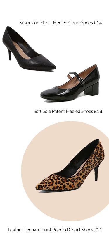 Shop glam heels at George.com
