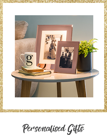 Make their gift personal with our range of hot water bottles, lamps and photo frames at George.com