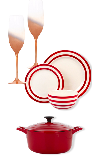 Add a little spice to their gift collection - shop pots and pans to wine glasses at George.com